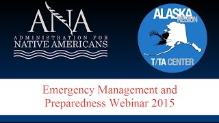 Emergency Management and Preparedness Webinar Final
