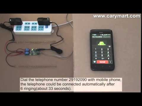 2 channel wireless telephone remote control switch on and off 2 led lampsRemote Control Using Telephone #14