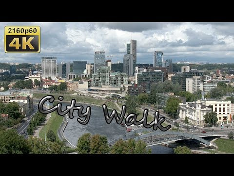 Vilnius, City Walk - Lithuania 4K Travel Channel