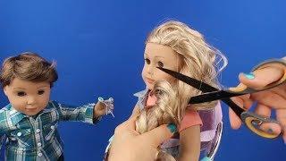 Oyuncak Bebeğim Ada'nın Saçını Kesiyoruz. Our Generation Kuaför Koltuğu ile Oyun Bidünya Oyuncak