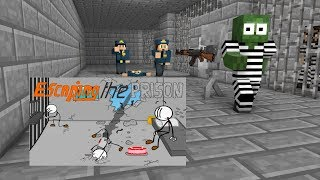 - Monster School Escaping the Prison Minecraft Animation