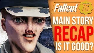 What actually was Fallout 76's main story? (Fallout 76 Story Recap)