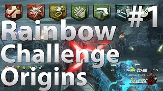 "Rainbow Perk Challenge V2: Origins (Part 1) - ""Black Ops 2 Zombies"""