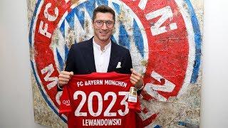 Robert Lewandowski extends stay at FC Bayern through 2023!
