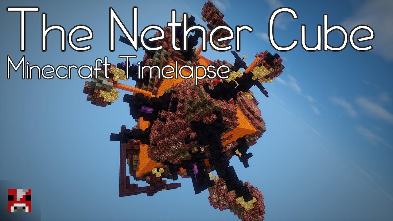 Minecraft timelapse nether cube world world download youtube gumiabroncs Choice Image