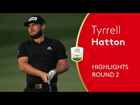 Tyrrell Hatton storms into five-shot lead in Abu Dhabi | 2021 Abu Dhabi HSBC Championship