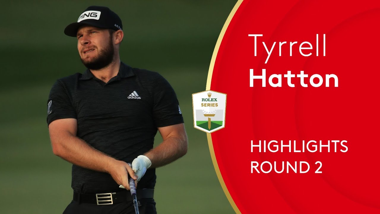 Hatton leads by one at the Abu Dhabi Championship