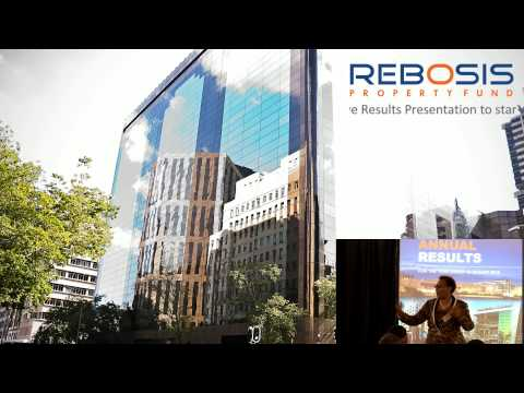 Rebosis Property Fund Results Presentation - Live stream