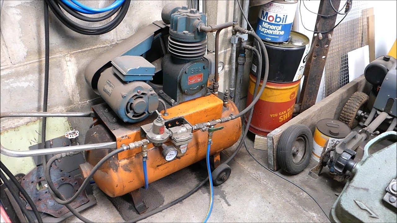 Why a workshop air compressor intercooler/aftercooler is a good idea