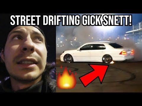 ILLEGAL STREET DRIFTING GICK SNETT! │RYSSLAND