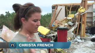 Tornado damages Deerfield Estates neighborhood (2010-05-11)