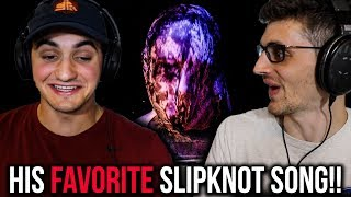 """REACTING to """"Nero Forte"""" by SLIPKNOT (This Song Turned Him into a METALHEAD!!))"""