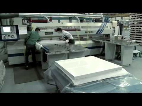 Производство акрилового листа для ванн Тритон