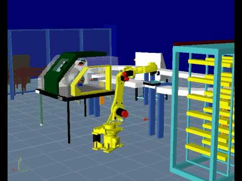 U of M Reconfigurable Manufacturing Simulation Project D