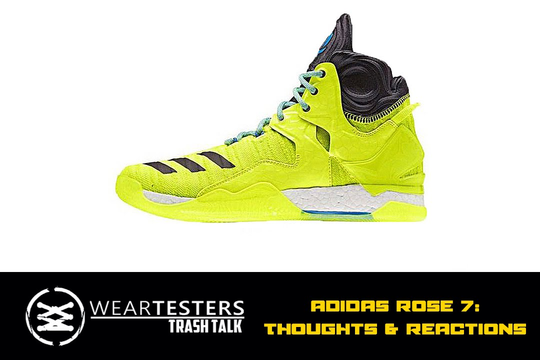 fe151ca9cf67 WearTesters Trash Talk  adidas Rose 7 - YouTube