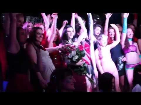 Pole dance show студии MoonART Стихии женской души