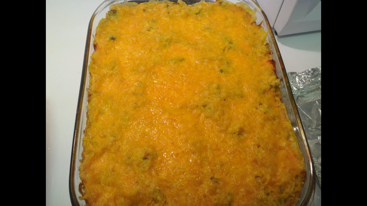 How To Broccoli Rice Cheese Casserole