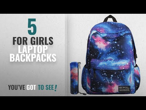 Laptop Backpacks For Girls [2018 Best Sellers]: Galaxy School Backpack, School Bag Student Stylish