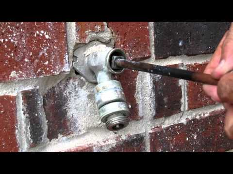 Diy How To Repair A Leaky Outdoor Faucet Youtube