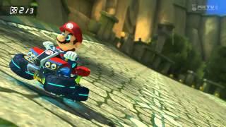Mario Kart 8: Thwomp Ruins - Last Second Win! Thumbnail