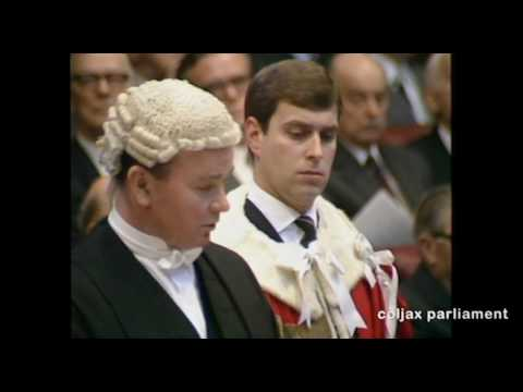 Prince Andrew Lords Introduction 1 Feb 1987