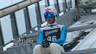 Tom Lubitz am 22.02.2015 in der Vogtlandarena Klingenthal