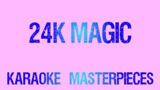 24K Magic Originally by Bruno Mars Instrumental Karaoke COVER