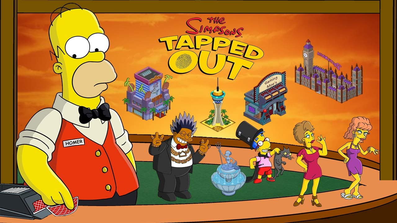 springfield casino simpsons