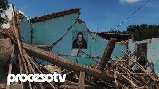 Juchitán: a un año del temblor, todo sigue igual… o peor