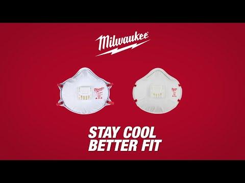 Youtube Milwaukee� Respirators - Valved N95