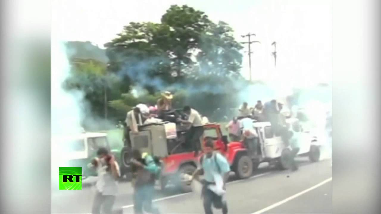 Забастовка производителей кофе в Колумбии (ВИДЕО)
