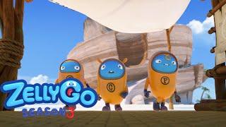 ZELLYGO season 3 Episode | Fake Sickness | -  kids/cartoon/funny/cute