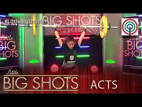 Little Big Shots Philippines: Lovely  13yearold Weightlifter