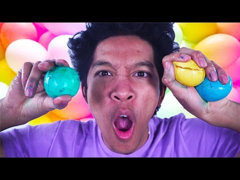 DIY MAGIC BOUNCEY EGG!!