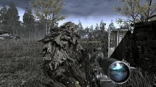 Call of Duty 4 Modern Warfare Veteran Act II - All Ghillied Up