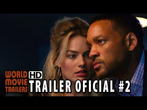 Golpe Duplo Trailer Oficial 2 Legendado 2015 Will Smith Margot