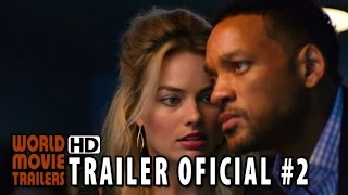 Golpe Duplo Trailer Oficial #2 Legendado (2015) - Will Smith, Margot Robbie HD
