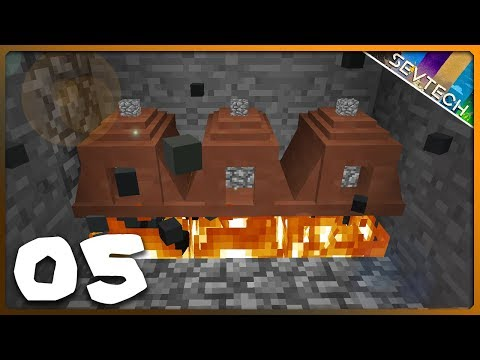 Minecraft: SevTech Ages    FIRE UP THE KILNS!    Ep 05