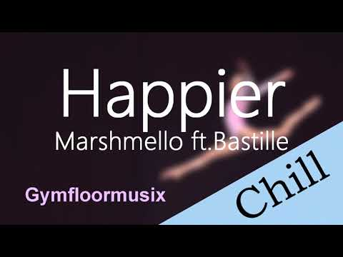 Happier by Marshmello ft. Bastille - Gymnastic Floor Music