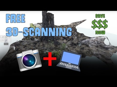 3D Scanning for free using Photogrammetry