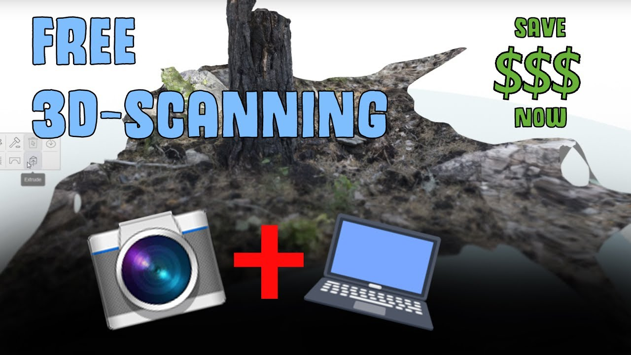free 3d scanning using photogrammetry