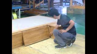 飛騨フォレストではオーダーユニット畳の製作をしています。 「畳が丘」...