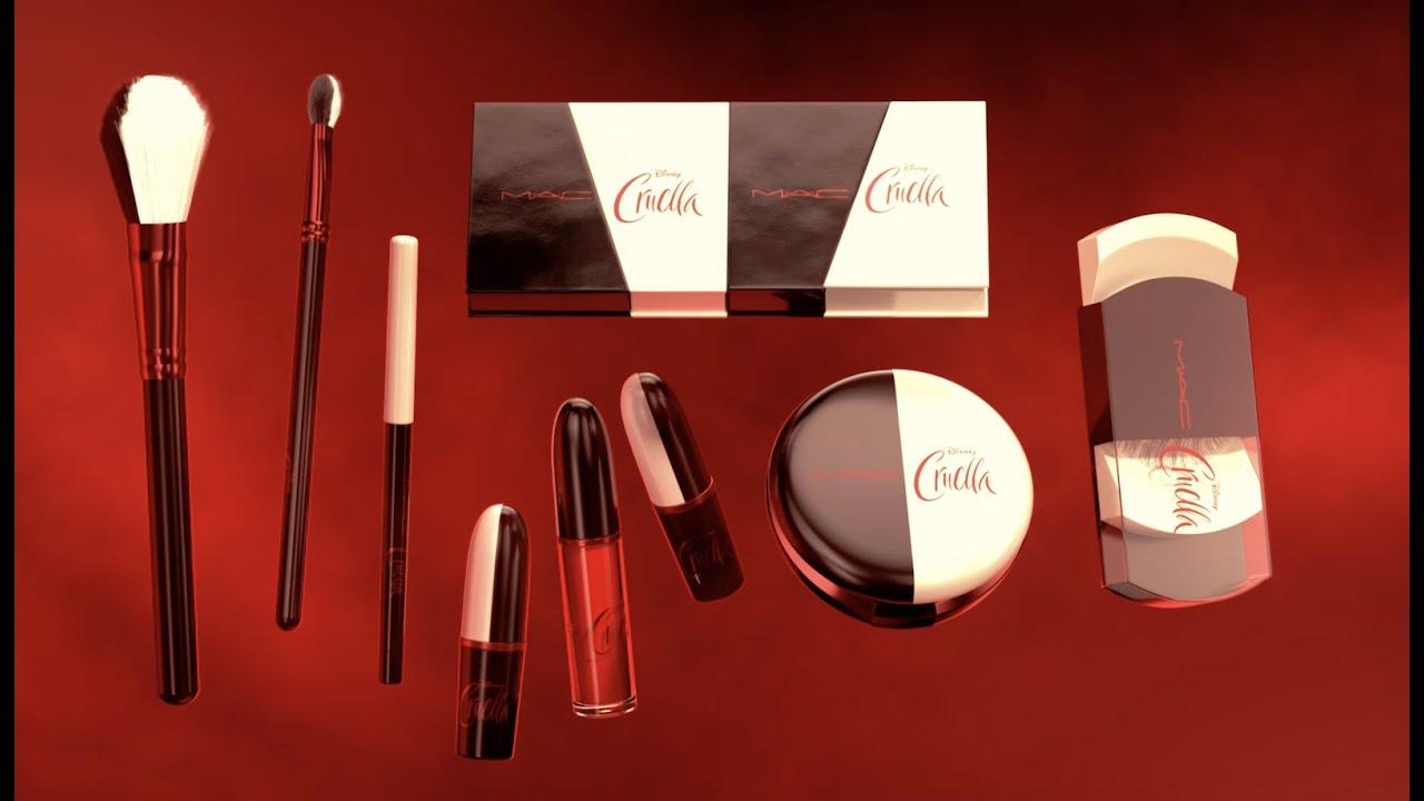 The Disney Cruella Collection By MAC | MAC Cosmetics - YouTube