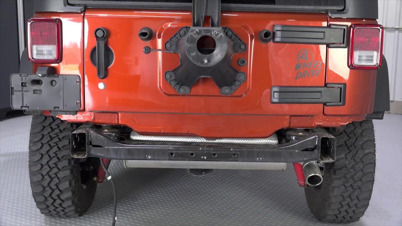 Jeep Jk Rear Bumper Cover Removal