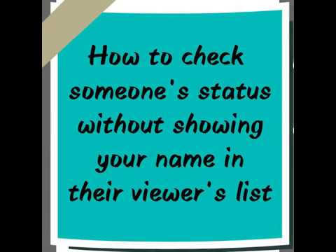 How To Hide Your Name From Status Viewed By List On Whatsapp