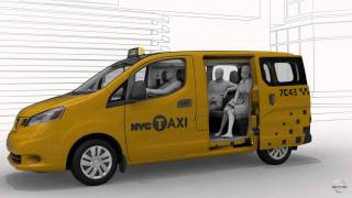 NYC Taxi of Tomorrow: Nissan NV200