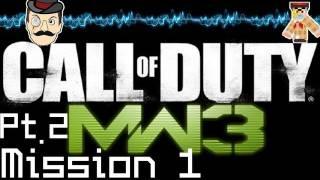 Call of Duty: Modern Warfare 3 PLAYTHROUGH Mission 1 Part 2 MW3 [HD] HOT! (Let