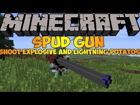Spud Gun Mod W I P Forge 1 6 4 Minecraft Mod