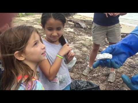 Nautilus Middle School Beach Clean-up Crew
