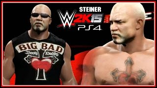 WWE 2K15 PS4, XB1 : Scott Steiner Entrance & Finisher - Community Creations